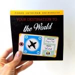 TLU study abroad brochure design