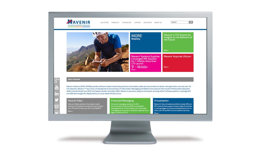 Website: Mavenir   Briley Design Group