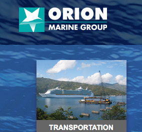 Orion Marine Group Website
