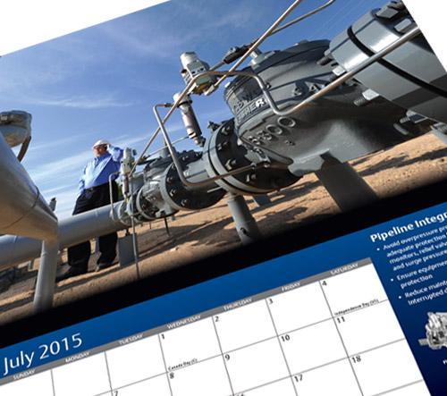 Calendar: Emerson Process Management | Briley Design Group