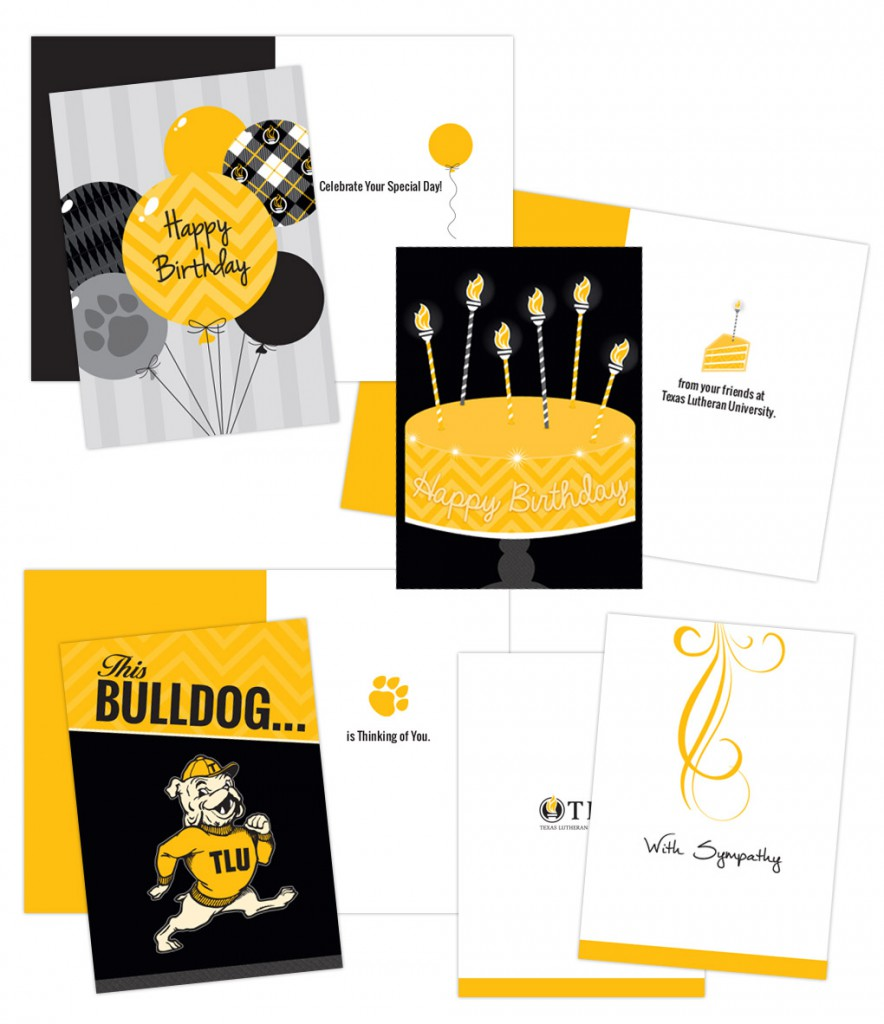 Greeting cards texas lutheran univeristy briley design group greeting card designs m4hsunfo